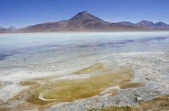使火山环境美化 免版税库存图片