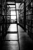 使用的书店 免版税库存图片