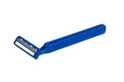 使用的刮胡子刀 库存照片