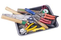 使用的园艺工具 免版税库存图片