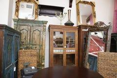 使用的家具店 免版税库存照片