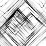 使用的抽象派作为几何样式,背景,纹理 库存例证