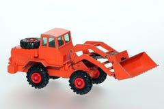 使用的挖泥机老铁锹玩具 免版税库存图片
