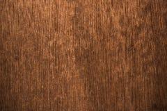 使用的木书桌作为背景 库存图片