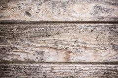 使用的木书桌板条作为背景 免版税库存图片