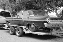 使用的汽车 图库摄影