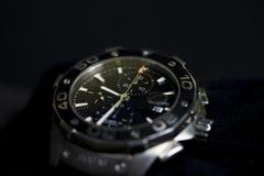 使用的测时器手表 库存图片