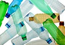 使用的瓶空 免版税图库摄影