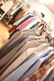 使用的衣物 免版税库存图片