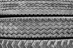 使用的轮胎 免版税图库摄影