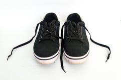 使用的鞋子 库存图片