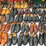使用的鞋子 免版税库存图片