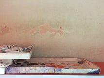 使用的颜色管 免版税库存照片