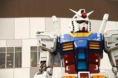 使用`准备好球员一`电影  大型Gundam 免版税库存照片