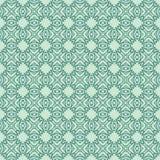 使目炫小珠设计无缝的背景样式例证水色蓝绿色颜色 图库摄影