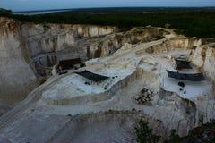 使矿工环境美化 免版税库存照片