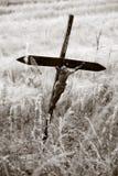 使耶稣荒凉 免版税库存照片