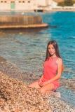 使舞蹈演员编辑可能的eps充分的夏威夷hula性感的妇女靠岸 免版税库存照片