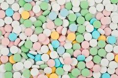 使药片服麻醉剂 免版税库存图片