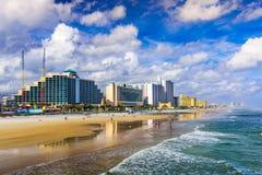 使daytona佛罗里达靠岸 库存图片