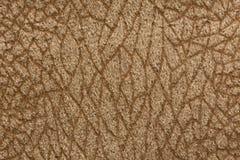 侈奢的浅褐色的纺织品背景 免版税库存图片