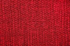 侈奢的豪华的红色组织背景 免版税库存图片