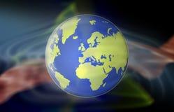 例证世界 免版税库存照片
