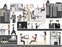 例证办公室向量 免版税库存图片