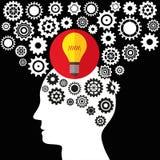 例证向量图形创造性和想法 免版税库存图片