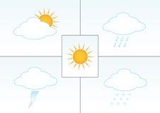 例证天气 图库摄影