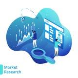 例证市场研究 向量例证