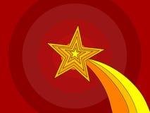 例证得奖的星形向量 免版税库存照片