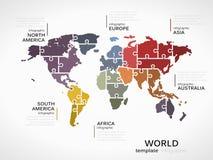 例证映射旧世界 向量例证