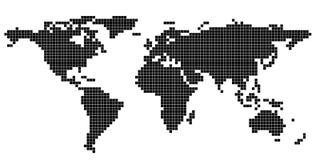 例证映射旧世界 免版税图库摄影