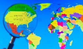例证映射旧世界 免版税库存图片