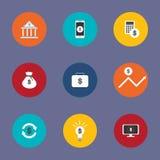 例证是象或一个白色标志 关于财政事务能用于各种各样的媒介 图库摄影