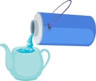 例证水壶 免版税图库摄影