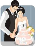 例证系列婚礼 免版税图库摄影