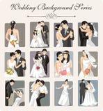 例证系列婚礼 免版税库存照片