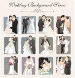 例证系列婚礼 库存图片