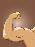 例证肌肉向量 皇族释放例证