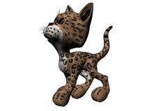 例证豹子 库存例证