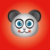 例证逗人喜爱的熊猫 免版税库存图片
