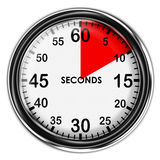 例证金属秒表 库存图片