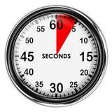 例证金属秒表 库存照片