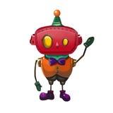 例证:玩具机器人柔和的人 向量例证