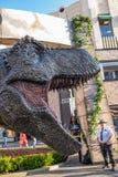 侏罗纪世界:下落的王国增进暴龙rex T雷克斯 库存照片