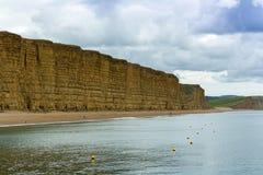 侏罗纪海岸,多西特 免版税库存图片