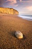 侏罗纪海岸 图库摄影