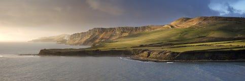 侏罗纪海岸 免版税库存图片